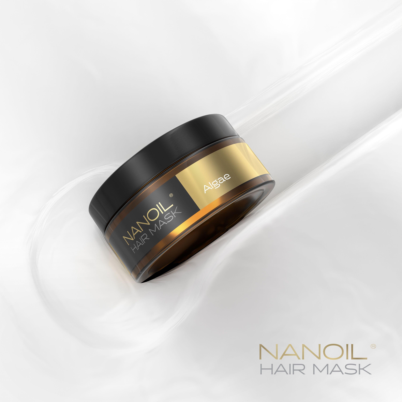 maska na włosy nanoil algea
